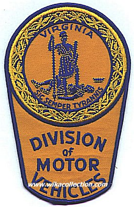 South carolina for Virginia department of motor vehicle